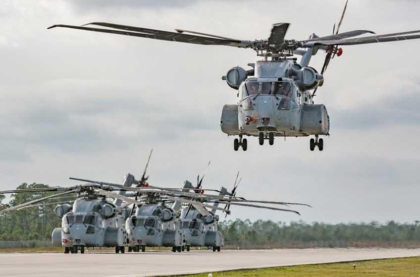 ciężki śmigłowiec transportowy Sikorsky CH-53K King Stallion