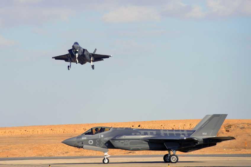 samoloty bojowe Lockheed Martin F-35I Adir