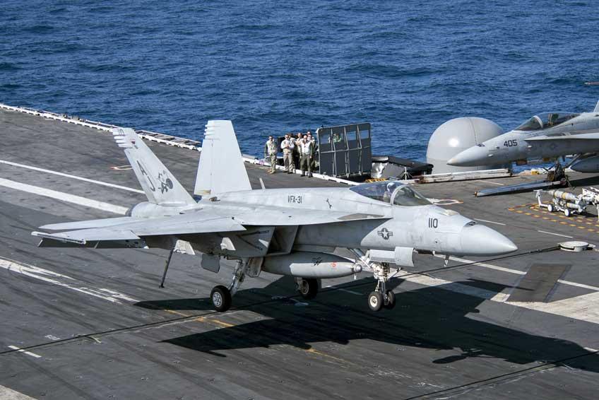 wielozadaniowe samoloty bojowe F/A-18E/F Super Hornet Boeing