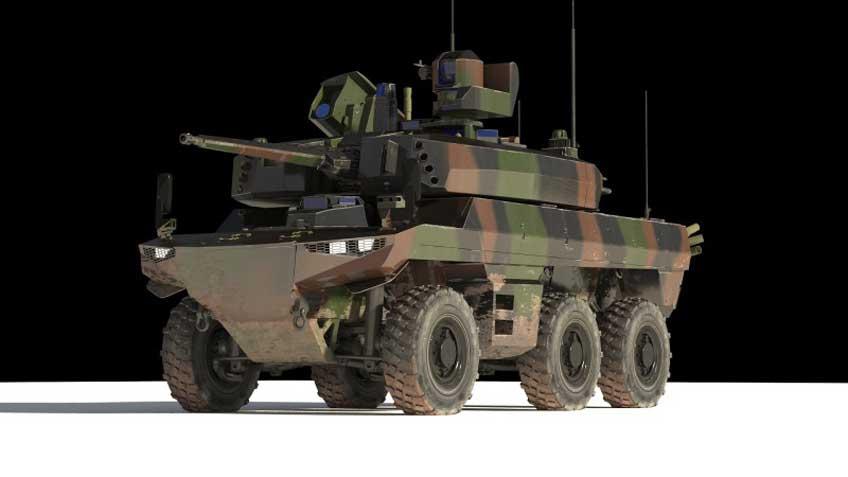 opancerzone pojazdy nowej generacji Griffon oraz Jaguar