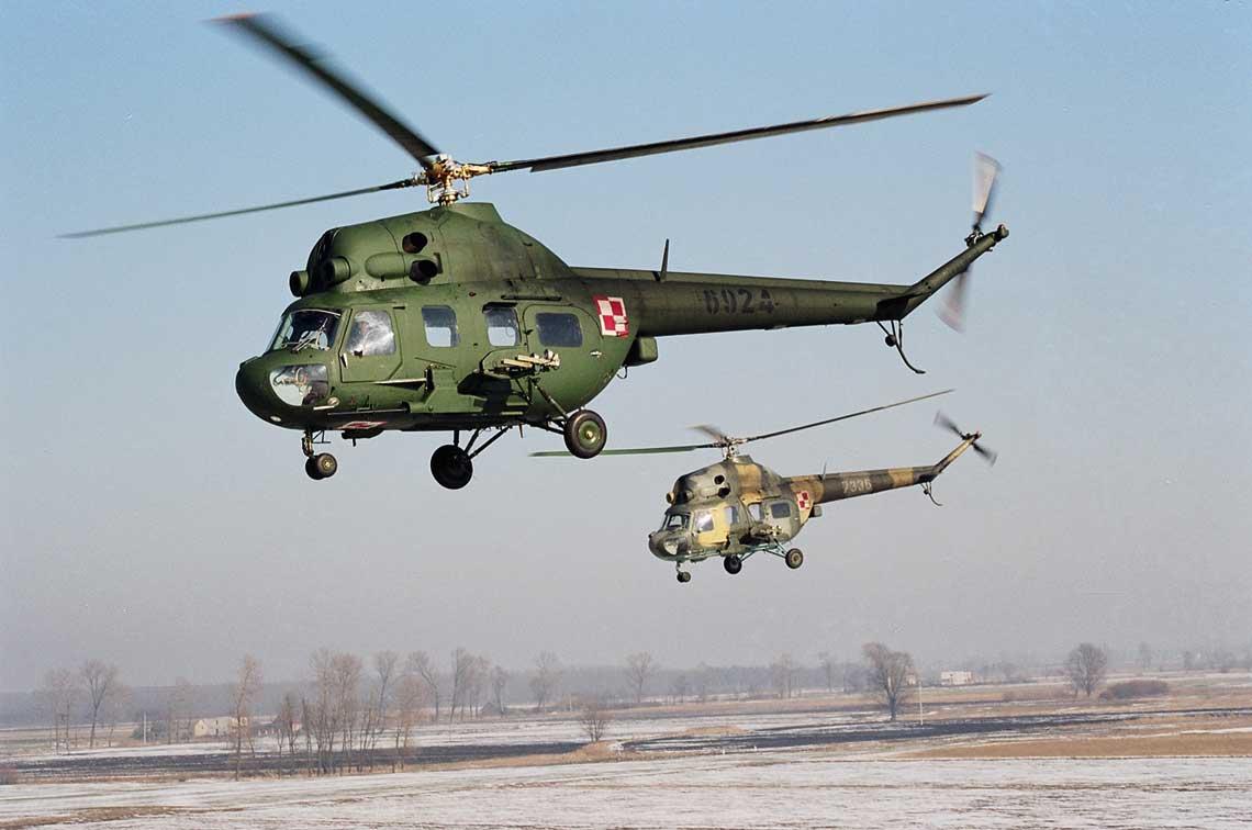 Mimo upływu 50 lat Mi-2 nadal stanowią podstawowy typ śmigłowca lekkiego w Wojsku Polskim.