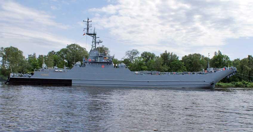 okręt transportowo-minowy ORP Poznań.
