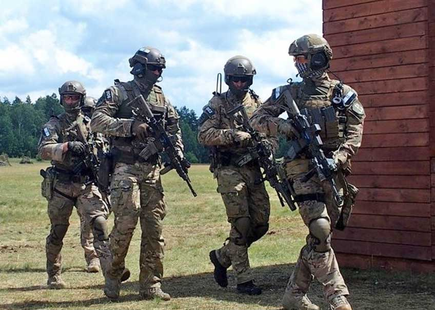 Odzież dla wojsk specjalnych