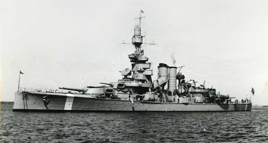 Pancernik Sverige w 1943r.