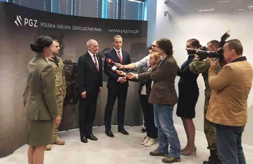 Polska Grupa Zbrojeniowa prezentuje sprzęt dla Obrony Terytorialnej