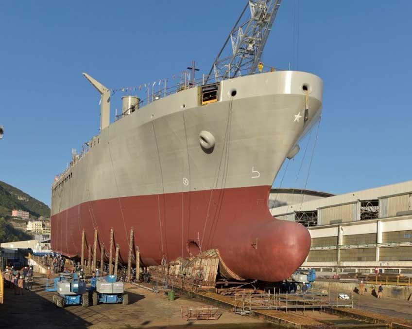 okręt zaopatrzeniowy Vulcano