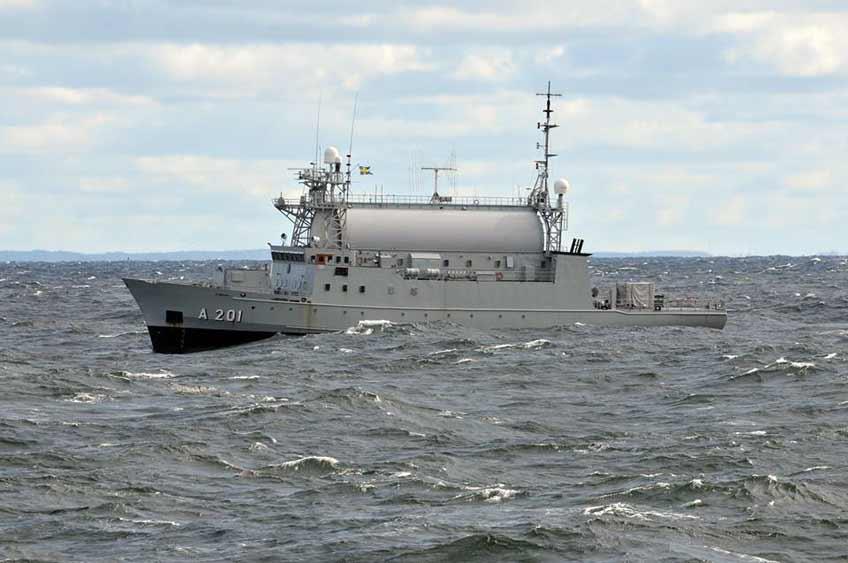 nowy okręt rozpoznawczy dla Marynarki Wojennej Szwecji