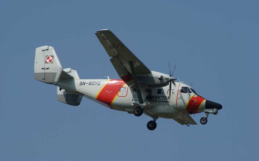 samolot patrolowy dla Straży Granicznej