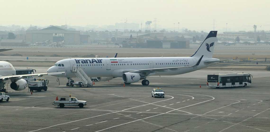 Na zdjęciu – Airbus A321 (EP-IFA) na lotnisku Mehrabad