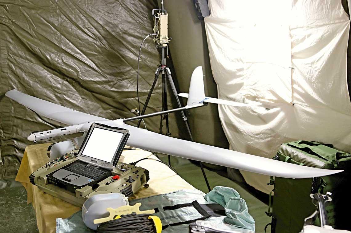 Pierwsza prezentacja bezzałogowego systemu rozpoznawczego z BSP Skylark-1LEX