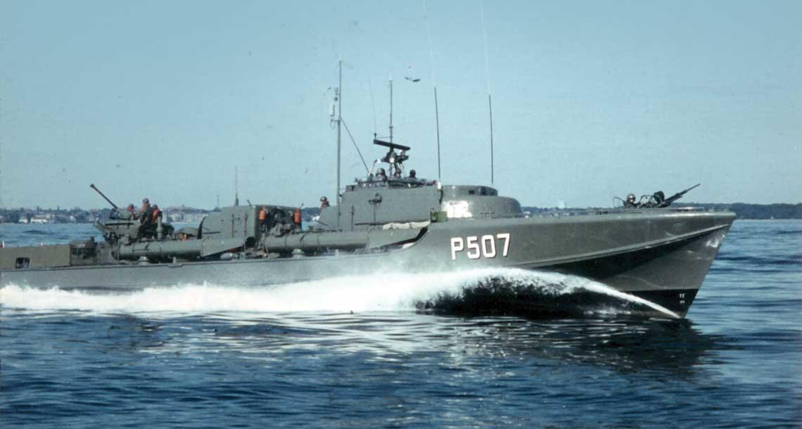 Kuter torpedowy Glenten typu Falken.