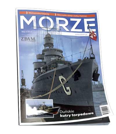 Czasopismo Morze 5/2017 okładka