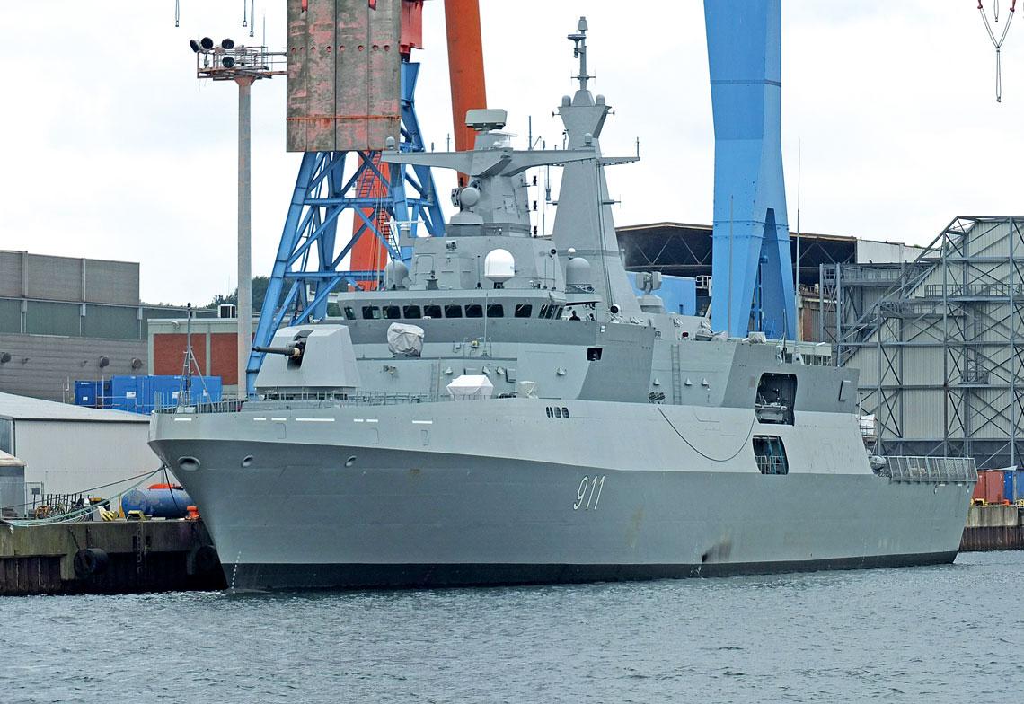 Wejście do służby dwóch nowoczesnych fregat typu MEKO A-200AN stanowi widomy przejaw skokowego wzrostu potencjału algierskiej floty, która już teraz jest jedną z najsilniejszych zarówno wśród państw arabskich, jak i w Afryce.