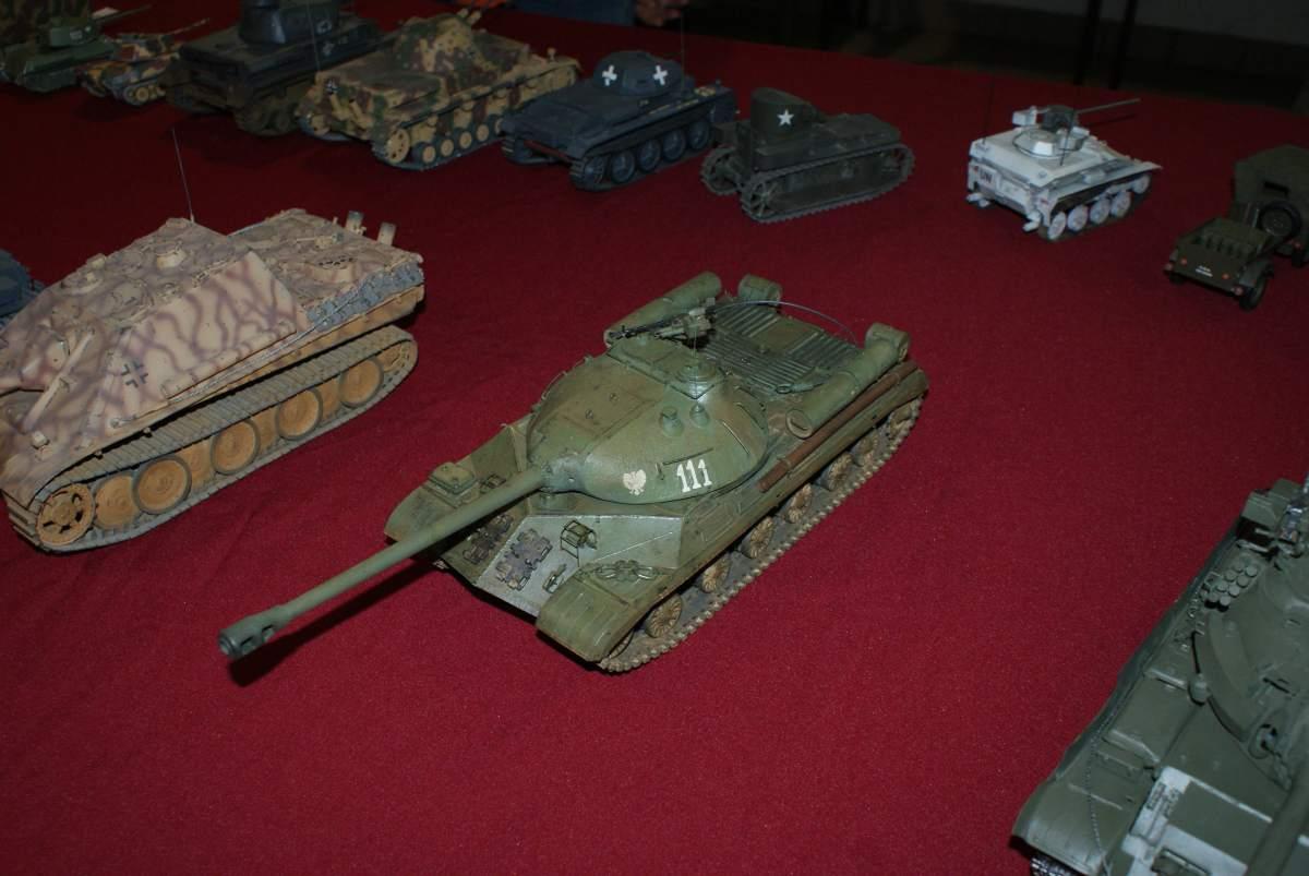 model czołgu IS-3