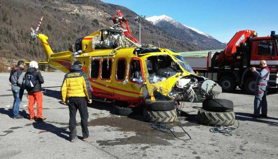AW139 Włochy