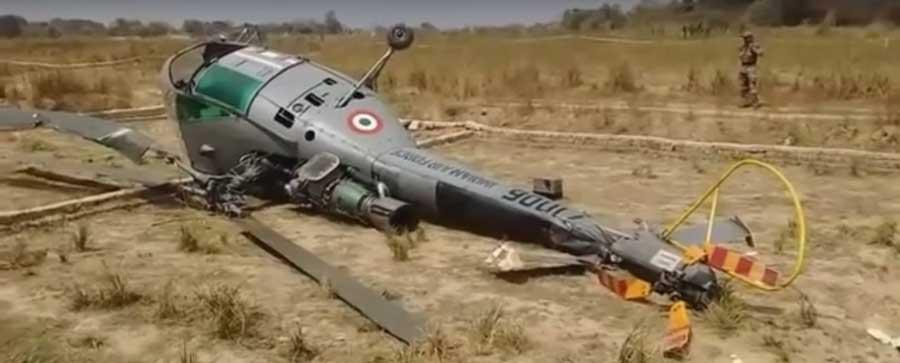 Allouette III rozbity w Indiach