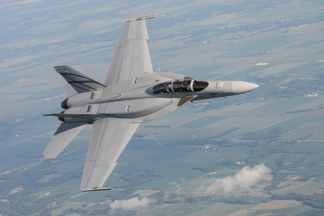 Boeing F/A-18 Super Hornet. Fot. Boeing