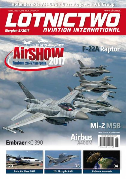 Lotnictwo Aviation International 8/2017