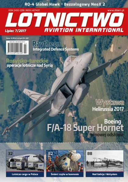 Lotnictwo Aviation International 7/2017