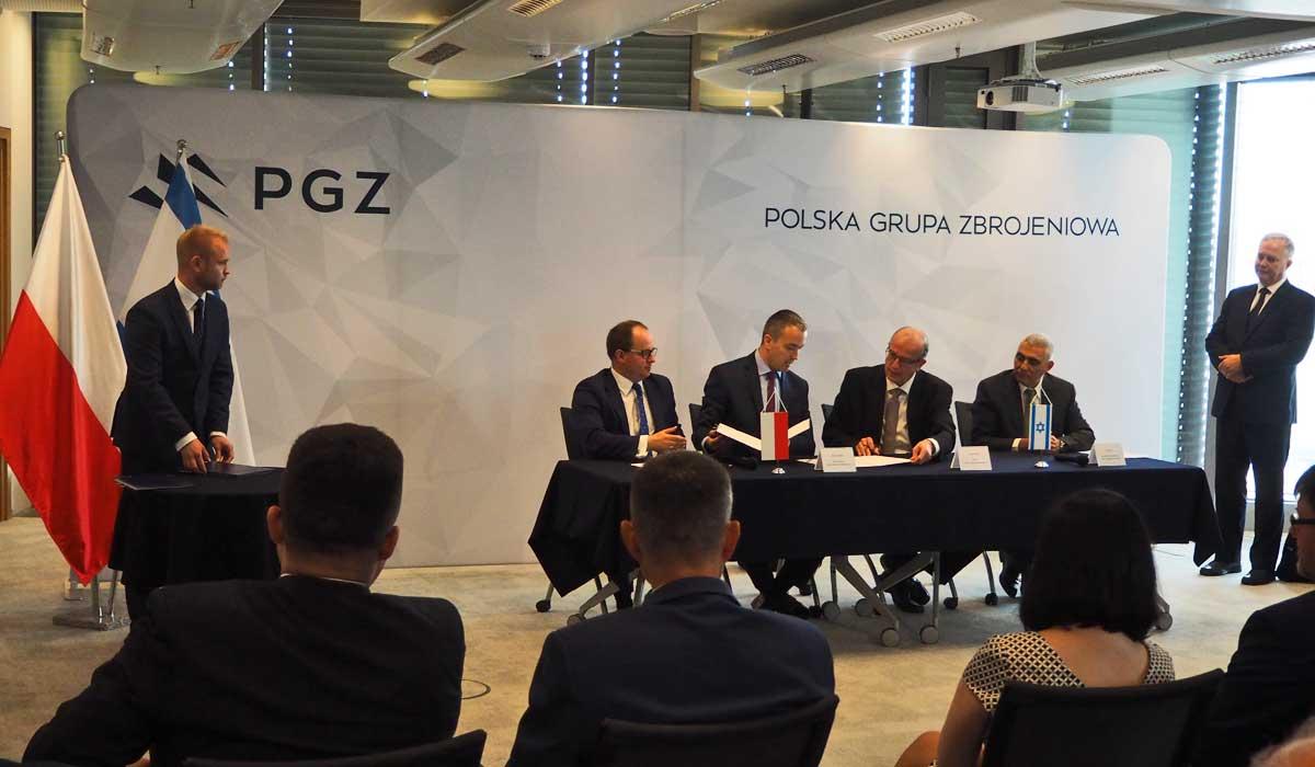 Polska Grupa Zbrojeniowa S.A. oraz Israel Aerospace Industries Ltd. i ELTA Systems Ltd. (spółka zależna IAI) podpisały porozumienie o współpracy