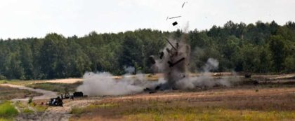 Poligonowe strzelanie granatników rodziny RPG-75