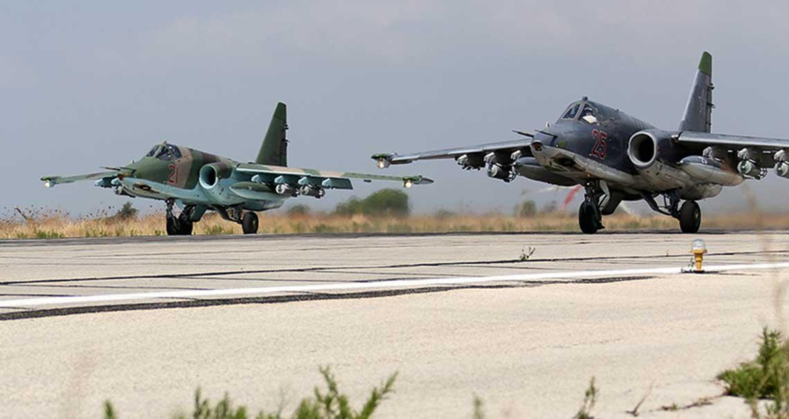 Rosyjsko-tureckie operacje powietrzne w Syrii