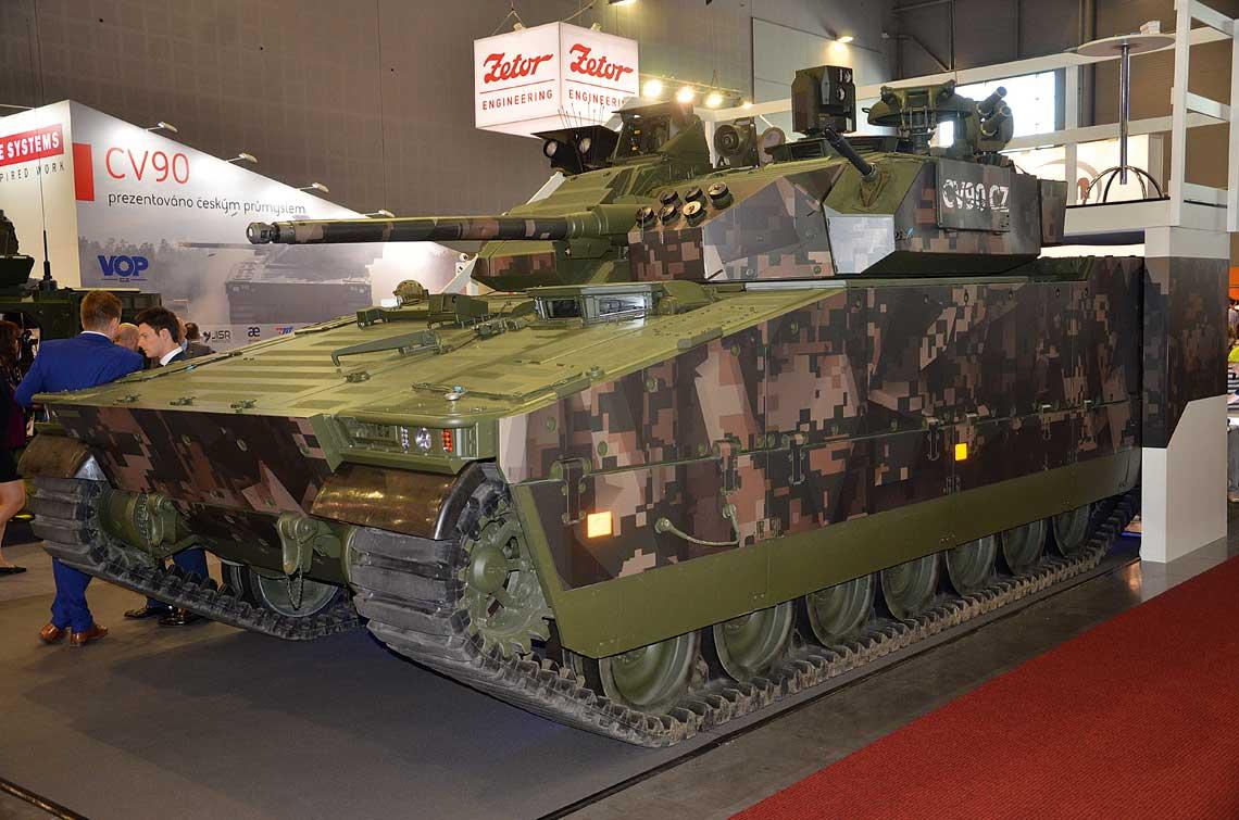 Czesi chcą modernizować wojska lądowe