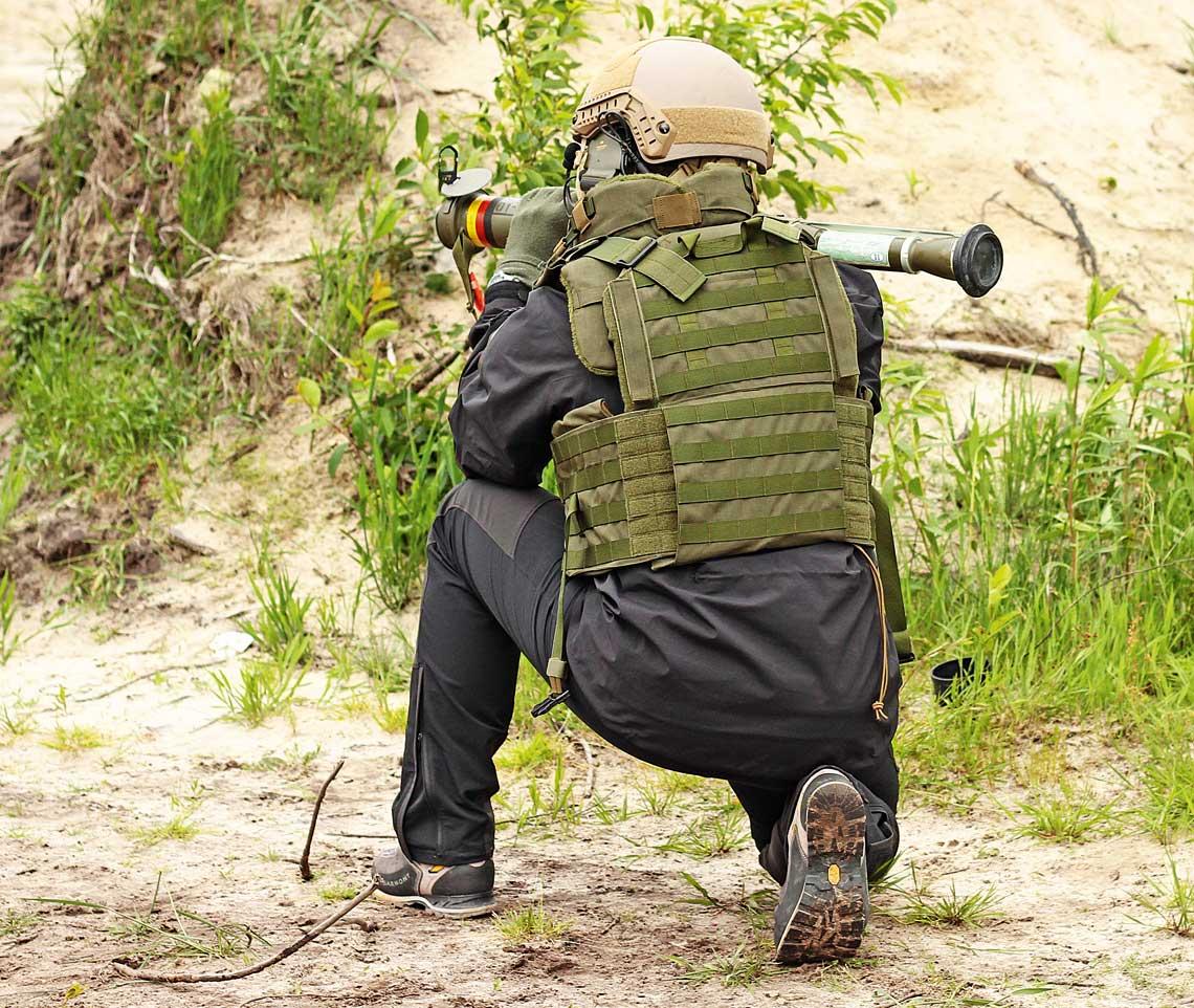Granatniki rodziny RPG-75 cechują niewielkie rozmiary i duża poręczność, nawet w konfiguracji bojowej.