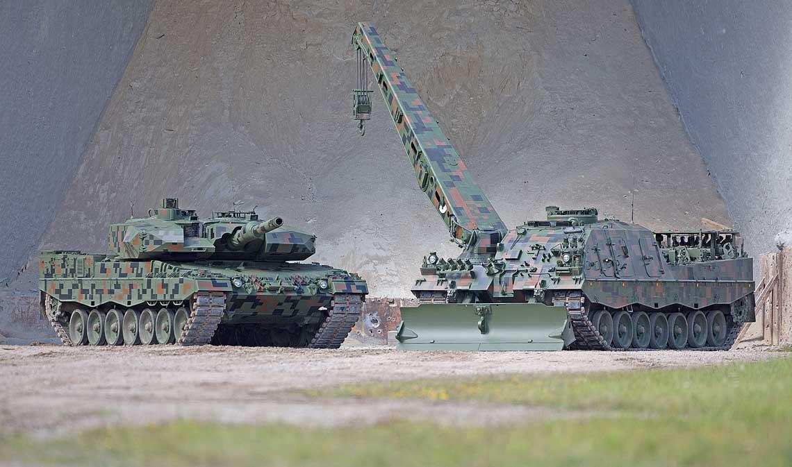 Czołg podstawowy Leopard 2PL i wóz zabezpieczenia technicznego ARV3PL, czyli podstawowy Bergepanzer 3, który mogłby stanowić podstawę do opracowania WZT-5. Oba wozy zostały publicznie zaprezentowane podczas ubiegłorocznego MSPO.