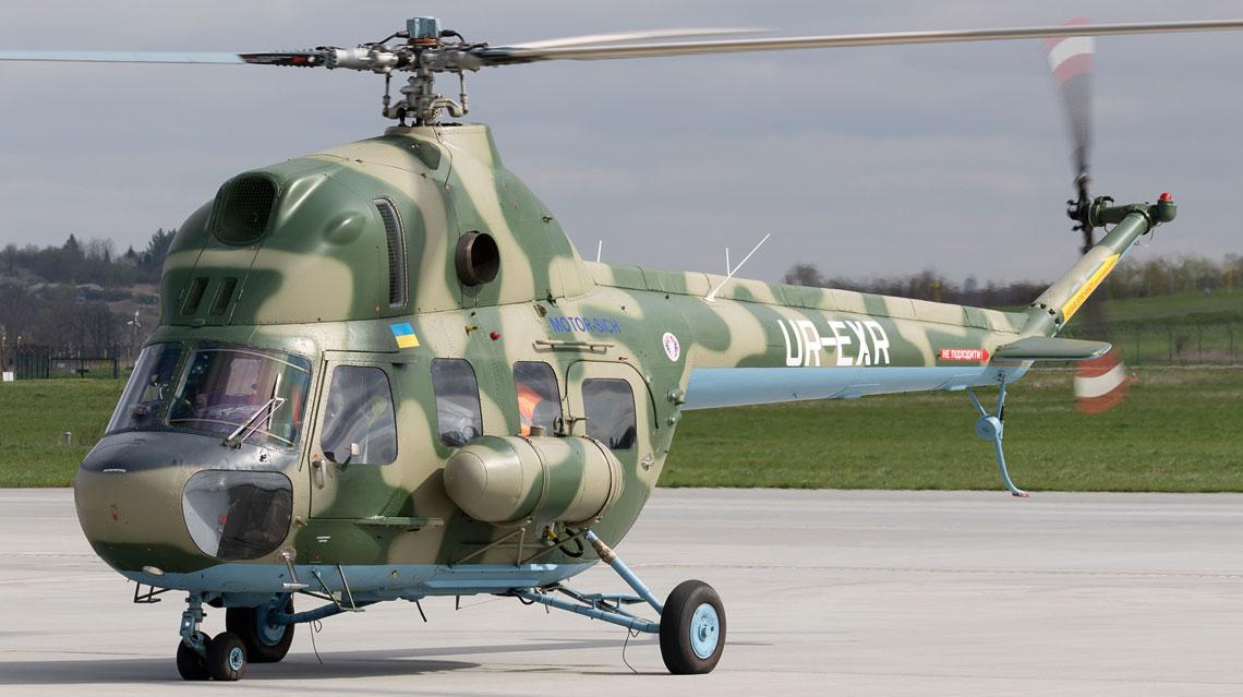 Zmodernizowany Mi-2 MSB.