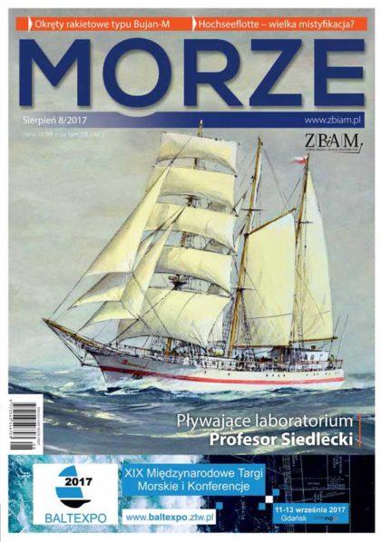 Czasopismo MORZE 8/2017
