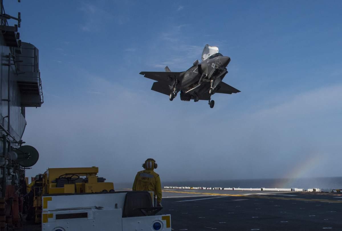 F-35B Lightning II może trafić do eksploatacji w lotnictwie morskim Hiszpanii, które rozpoczęły prace nad przyszłością eskadry wyposażonej obecnie w AV-8B Harrier. Fot. US Navy.