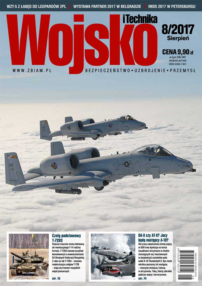 Czasopismo Wojsko i Technika 8/2017