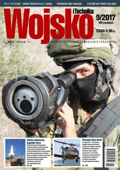 Czasopismo Wojsko i Technika 9/2017
