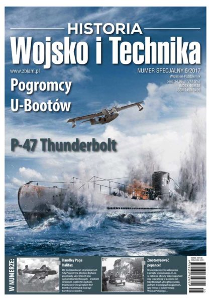 Czasopismo Wojsko i Technika Historia 5/2017 specjal
