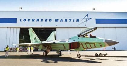 ostatni F-22A Raptor