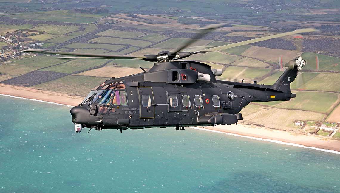 HH-101A Caesar to najnowszy przedstawiciel rodziny AW101, wkonstrukcji którego wykorzystano doświadczenia zdobyte podczas eksploatacji wersji SAR itransportowych.