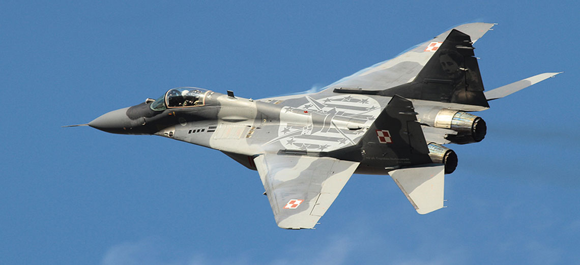 Jedno jest pewne: Polska będzie ostatnim krajem NATO, który wycofa z eksploatacji myśliwce  MiG-29, co jest planowane w 2028 r. Fot. George Karavantos