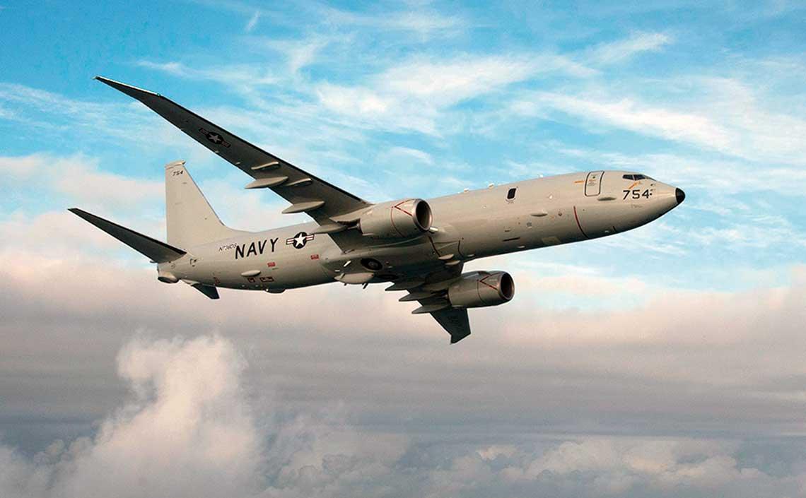 Lotnictwo rozpoznawcze dla Sił Zbrojnych RP. Wśród morskich maszyn patrolowych z napędem odrzutowym z pewnością jedną z najpotężniejszych jest amerykański P-8 Poseidon. (fot. Boeing)