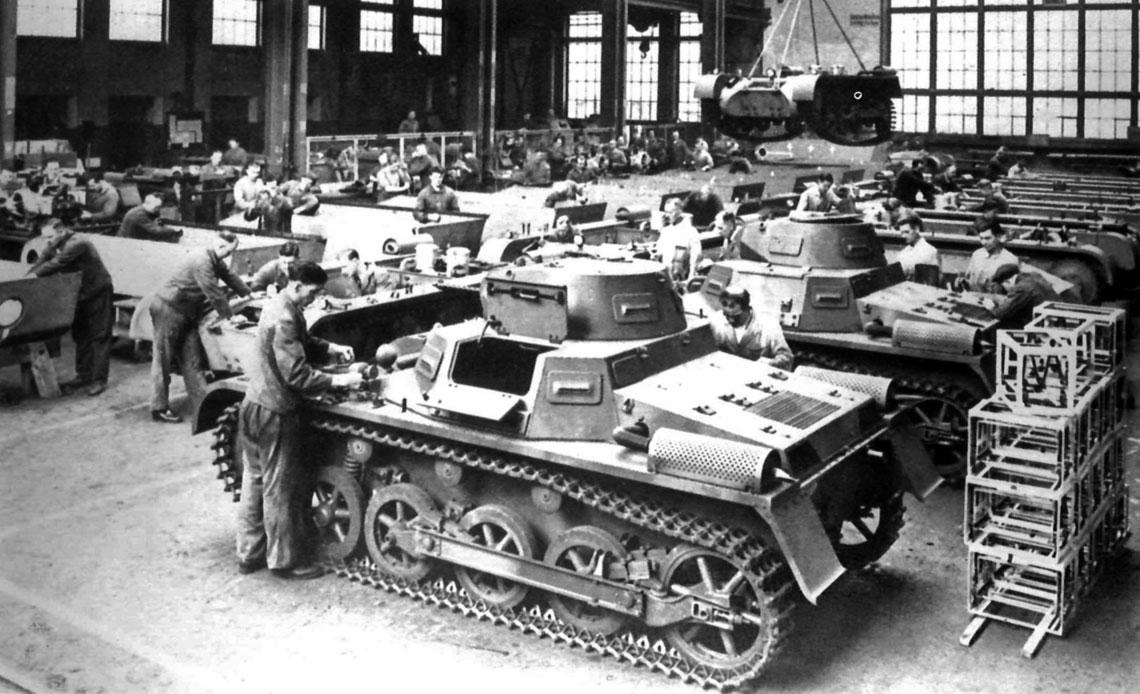Produkcja PzKpfw I została bardzo szybko rozwinięta w kilku zakładach. Łącznie wykonano 1559 wozów tego typu dla Wehrmachtu, w tym 1160 PzKpfw I Ausf. A i 399 PzKpfwI Ausf. B oraz 15 PzKpfw I Ausf. A dla Chin.