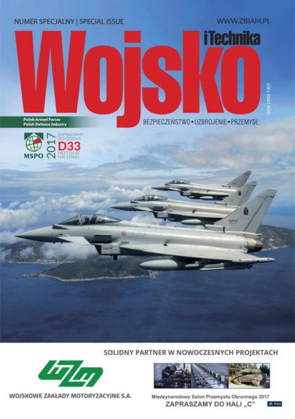 Czasopismo Wojsko i Technika - wydanie specjalne - targi MSPO 2017