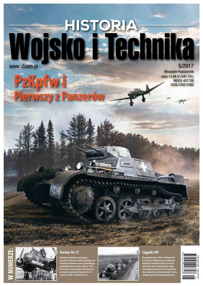 Czasopismo Wojsko i Technika Historia 5/2017