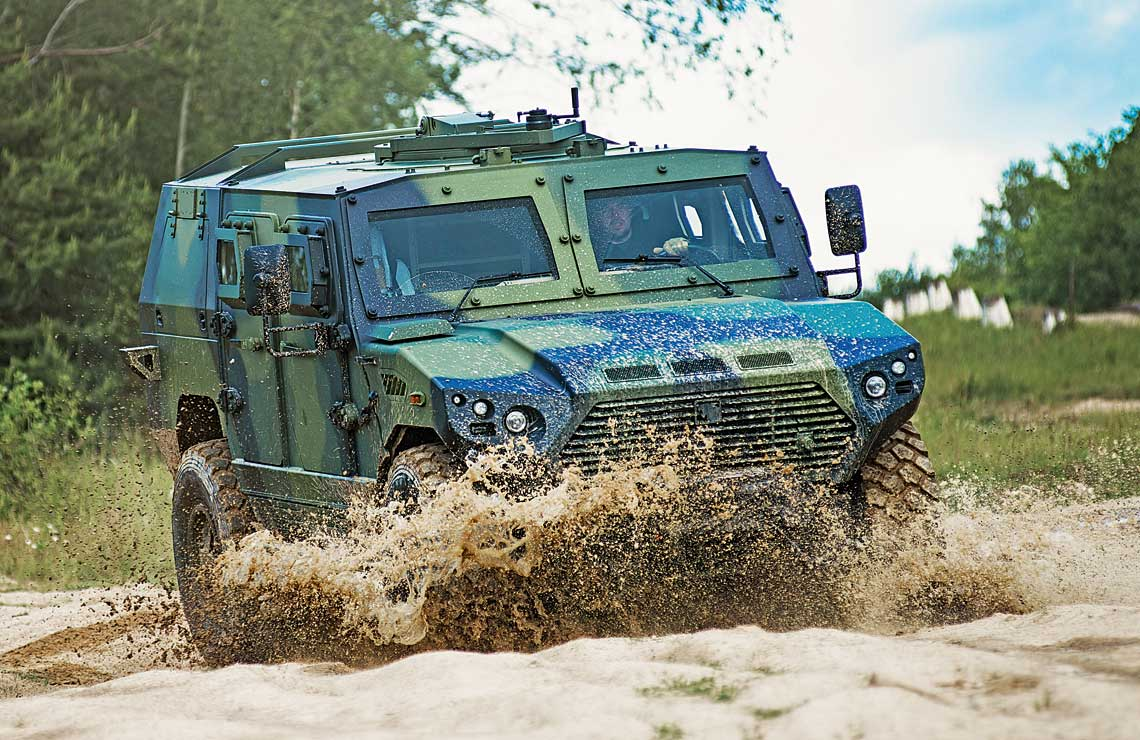 Ajban 440N z wprowadzonymi przez VOP CZ modyfikacjami był wiosną tego roku intensywnie testowany na torze prób Wojskowego Instytutu Technicznego Wojsk Lądowych (VTUPV) w Vyškovie.
