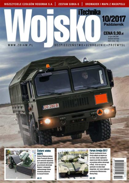 Czasopismo Wojsko i Technika 10/2017