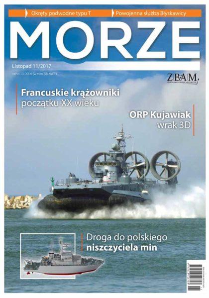 Magazyn MORZE 11/2017