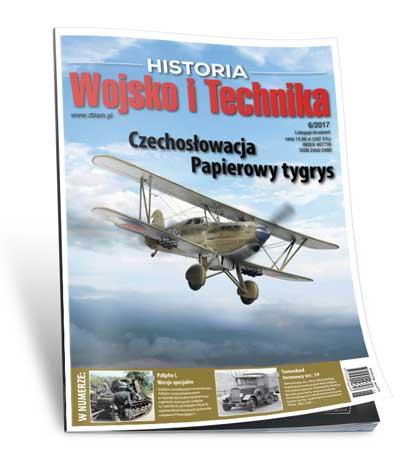 Czasopismo Wojsko i Technika Historia 6/2017