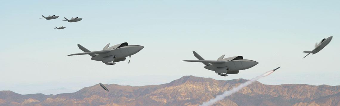 Wizja bojowych bezzałogowców XQ-222 Valkyrie dominujących na polu walki przyszłości. Do jakości i zaawansowanych rozwiązań technicznych dołączyła liczebność…