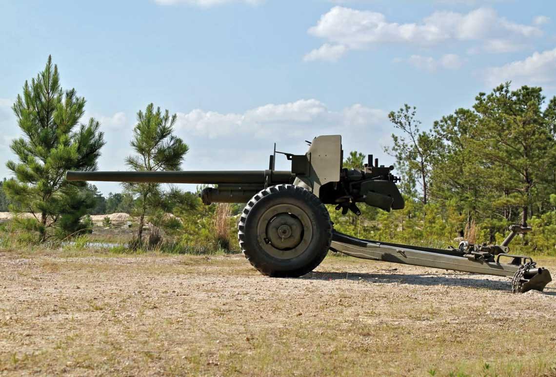 Armata przeciwpancerna 57 mm gun M1 on Carriage M1
