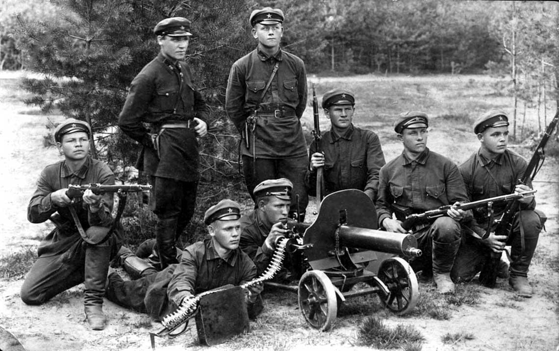 Bron sowieckiej piechoty do 1941 r.