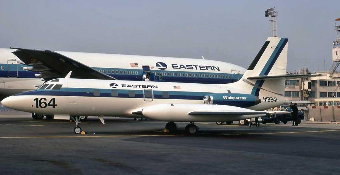 Linie Eastern Airlines otrzymały jednego JetStara 8 w ramach rekompensaty za opóźnienia  w dostawie trzysilnikowych TriStarów. Fot. Eastern Airlines